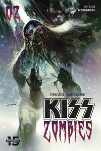 [Kiss: Zombies #3 (Cover B Sayger) (Product Image)]