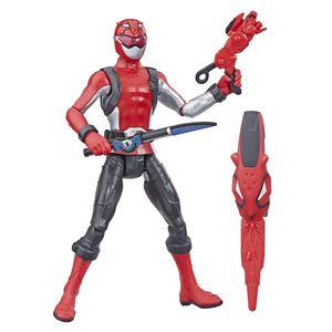 [Power Rangers: Beast Morphers: Basic Action Figure: Red Ranger (Product Image)]