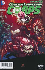 [Green Lantern Corps #39 (Product Image)]