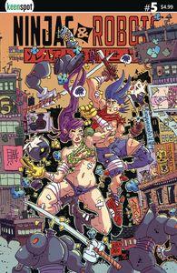 [Ninjas & Robots #5 (Cover A Erik Klaus) (Product Image)]