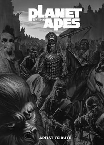 [Planet Of The Apes: Artist Tribute (Hardcover) (Product Image)]