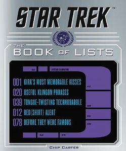[Star Trek: The Book Of Lists (Hardcover) (Product Image)]