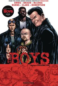 [Boys Omnibus: Volume 6: Robertson (Signed Edition) (Product Image)]