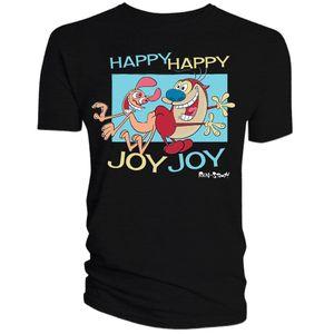 [The Ren & Stimpy Show: T-Shirt: Happy Happy Joy Joy (Product Image)]