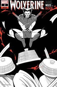 [Wolverine: Black White Blood #2 (Bustos Variant) (Product Image)]