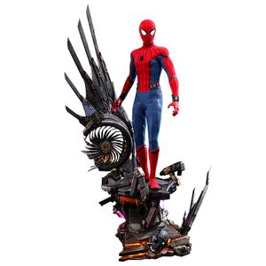 [Spider-Man: Homecoming: Deluxe Hot Toys Action Figure: Spider-Man (Product Image)]