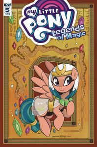 [My Little Pony: Legends Of Magic #5 (Cover A Hickey) (Product Image)]