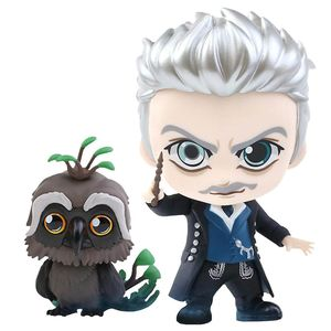 [Fantastic Beasts: The Crimes Of Grindelwald: Cosbaby Figures: Gellert Grindelwald & Augurey (2 Pack) (Product Image)]