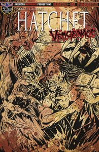 [Hatchet: Vengeance #1 (Limited Edition Bloody Horror Cover) (Product Image)]