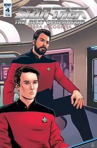 [Star Trek: The Next Generation: Terra Incognita #4 (Cover A - Shasteen) (Product Image)]