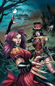 [Van Helsing Vs Draculas Daughter #5 (Cover B Coccolo) (Product Image)]