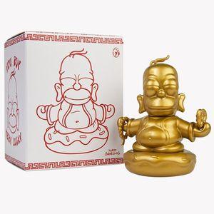 [The Simpsons: Kidrobot Vinyl Figure: Golden Buddha Homer (Product Image)]