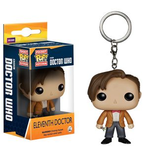 [Doctor Who: Pocket Pop! Vinyl Keychain: 11th Doctor (Product Image)]