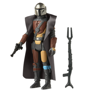 [Star Wars: The Mandalorian: Retro Collection Action Figure: The Mandalorian (Product Image)]