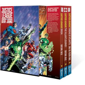 [Justice League By Geoff Johns: Box Set: Volume 1 (Product Image)]