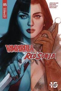 [Vampirella/Red Sonja #5 (Cover C Oliver) (Product Image)]