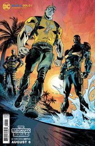 [Blue & Gold #2 (Jason Howard Suicide Squad Movie Cardstock Variant) (Product Image)]