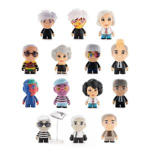 [Kidrobot: Andy Warhol 3 Inch Vinyl Art Mini Series: Many Faces Of Andy (Product Image)]