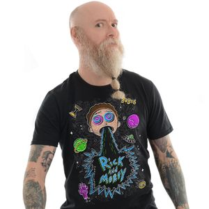 [Rick & Morty: Glow In The Dark T-Shirt: Sick & Morty (Product Image)]