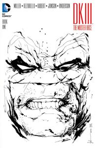 [Dark Knight III: Master Race #1 (Forbidden Planet Jock B&W Variant) (Product Image)]