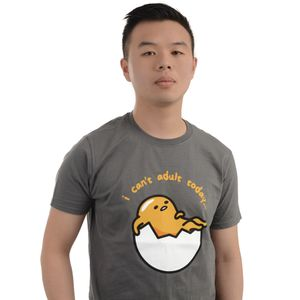[Gudetama: T-Shirt: I Can't Adult Today (Product Image)]