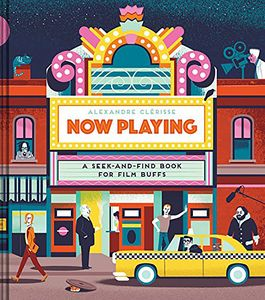 [Now Playing: A Seek-And-Find Book For Film Buffs (Hardcover) (Product Image)]