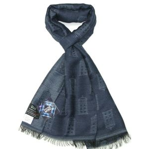 [Doctor Who: Scarf: TARDIS (Blue & Grey) (Product Image)]