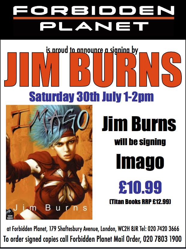 Jim Burns Signing Imago
