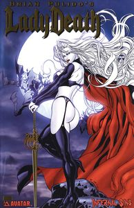 [Lady Death: Infernal Sins (Gold Foil Variant) (Product Image)]