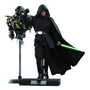 [Star Wars: The Mandalorian: Hot Toys Action Figure: Luke Skywalker (Deluxe) (Product Image)]