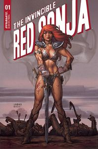 [Invincible Red Sonja #1 (Cover B Linsner) (Product Image)]