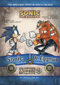 [Sonic The Hedgehog: Limited Edition Print: Fight Of The Year (Product Image)]
