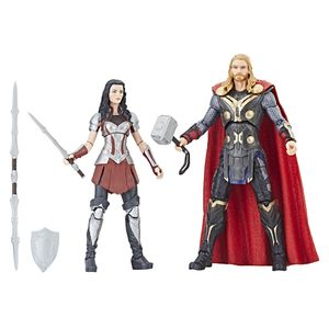 [Marvel Legends: Cinematic Universe 10th Anniversary Action Figure: Thor & Sif (2 Pack) (Product Image)]