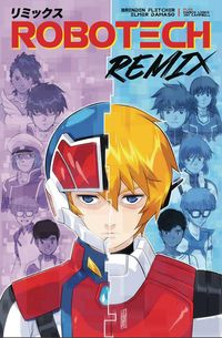 [The cover for Robotech: Remix #6 (Cover A Damaso)]
