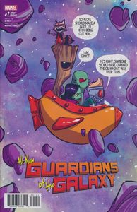 [All New Guardians Of Galaxy #1 (Young Variant) (Product Image)]