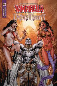 [Vampirella/Dejah Thoris #3 (Cover A Anacleto) (Product Image)]