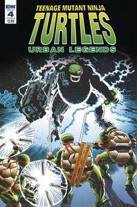 [Teenage Mutant Ninja Turtles: Urban Legends #4 (Cover B Fosco Larsen) (Product Image)]