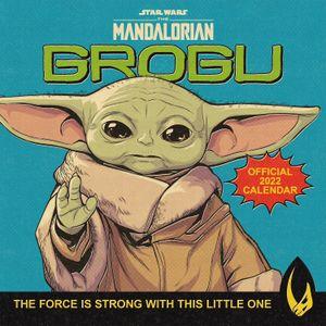 [Star Wars: Baby Yoda 2022 Square Calendar (Product Image)]