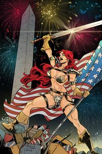 [Red Sonja #18 (Miracolo America Together Virgin Variant) (Product Image)]
