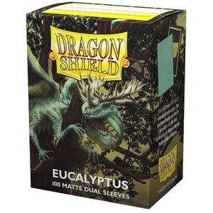 [Dragon Shield: 100 Matte Dual Sleeves: Eucalyptus (Product Image)]