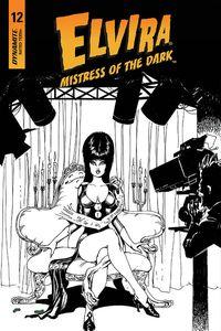 [Elvira: Mistress Of Dark #12 (Castro B&W Variant) (Product Image)]