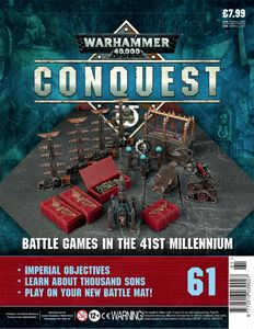 [Warhammer 40K: Conquest: Figurine Collection #61 (Product Image)]