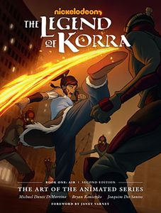 [The Legend Korra: The Art Of The Animated Series (2nd Edition Hardcover) (Product Image)]