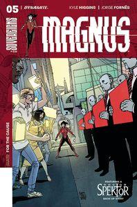 [Magnus #5 (Cover A Camuncoli) (Product Image)]