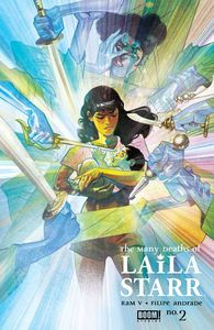 [Many Deaths Of Laila Starr #2 (Cover B Del Mundo Foil) (Product Image)]