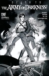 [Death To The Army Of Darkness #1 (Andolfo B&W Variant) (Product Image)]