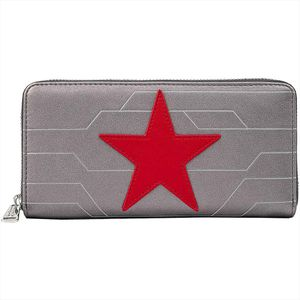 [Marvel: Loungefly Zip Around Wallet: Winter Soldier Cosplay (Product Image)]