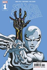 [Silver Surfer: Black #1 (4th Printing Moore Variant) (Product Image)]
