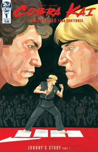 [The cover for Cobra Kai/Karate Kid Saga Continues #1 (Cover A Mcleod)]