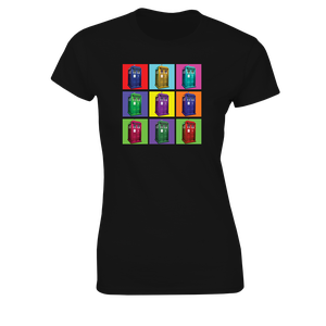 [Doctor Who: Women's Fit T-Shirt: Pop Art TARDIS (Product Image)]